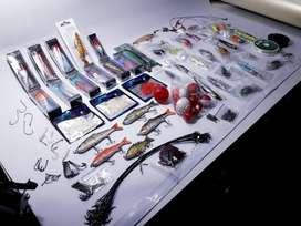 Kit de Pesca Deportiva: Carnadas, Señuelos, Leaders, Anzuelos, Flotadores, etc.