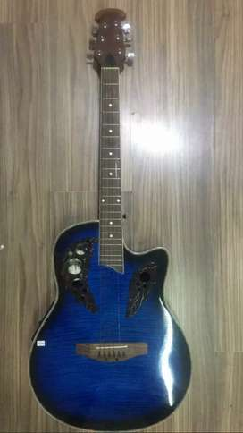 Guitarra Electroacoustica Aplausse Blue