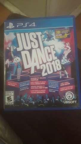 Juego Just dance 2018 ( no permuto)