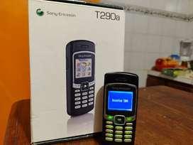 Sony Ericsson T290, reliquia completo en caja
