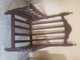 Muebles de guayacan