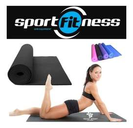 Colchoneta para Yoga y Ejercicios Rojo Sportfitness