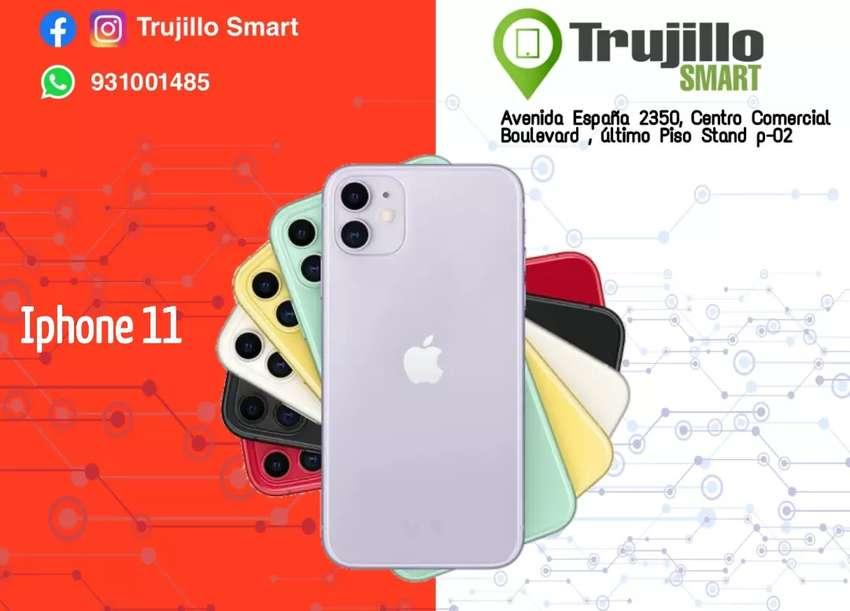 iPhone 11 64 GB tienda física 1 año de Garantía 0
