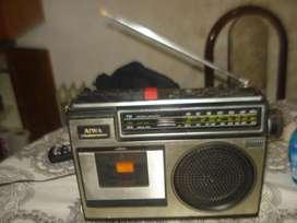 Radiograbador Aiwa Antiguo Tpr140h Solo Radio No Envio