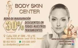 Descuentos  para tratamientos faciales y corporales