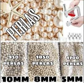 Perlas sin huecos para el aplicador de perlas
