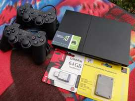 Hermoso PlayStation 2 Slim Como Nuevo