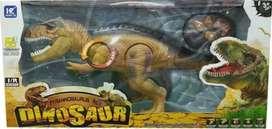Dinosaurio Tiranosaurio Rex Remoto - Juguete + Obsequio