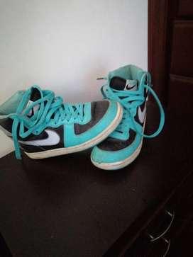 Zapatos baloncesto para niño talla 36