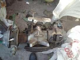 Motor Citroen 3 cv se saco andando