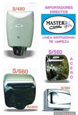 Secadores automaticos MASTER CLEAN