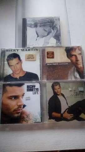Ricky martin cds originales remato x unidad