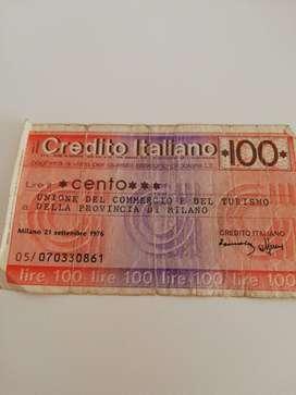 Pagaré a la vista ok crédito italiano