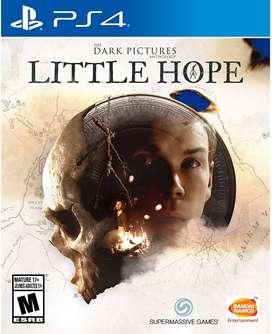 The Dark Pictures LITTLE HOPE como nuevo para PS4