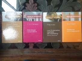 Libros de management: dirección, inovación y marketing.