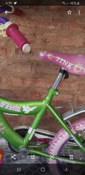 Bicicleta rodado 16' kindelbell