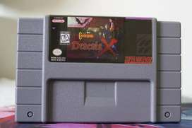 Juego CASTLEVANIA DRACULA X para Super Nintendo SNES