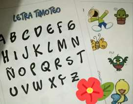 Timoteo y lettering