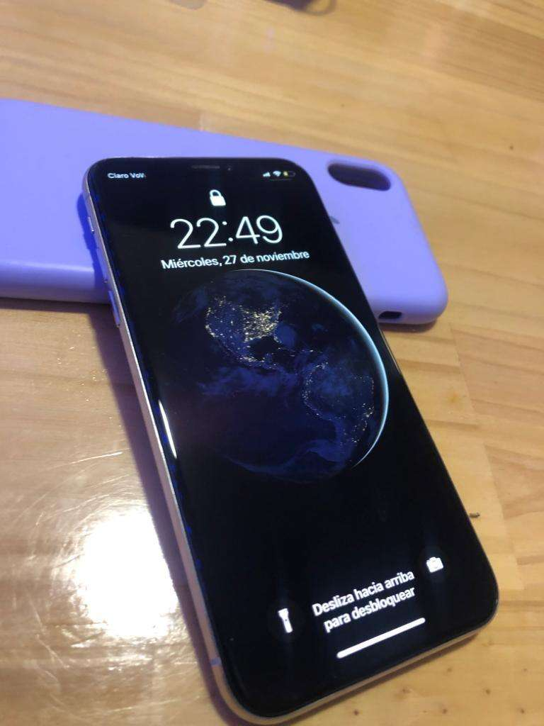 Iphone X 256 GB blanco 0