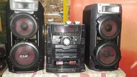 vendo equipo de sonido Sony