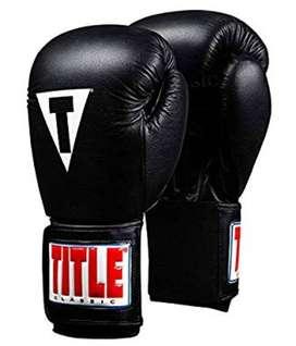 Guantes de boxeo marca title talla L