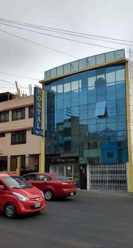 Alquilo o vendo  hotel / hostal en ciudad Arequipa