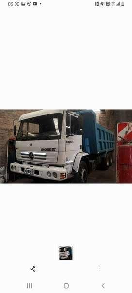 Camion mercedes benz 2423k volcador 6x4