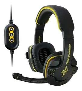 VENDO Diadema Auricular Gamer Usb 7.1 Con Micrófono Omega Hs-9021
