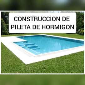 CONSTRUCCION DE PILETAS DE HORMIGON