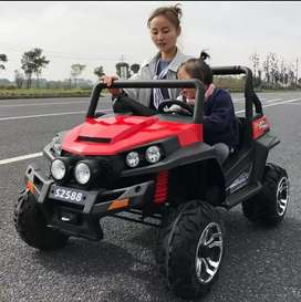 Carro a batería 4x4/ control / neumáticos de goma/ garantía 1 año