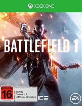 Battlefield 1 Xbox One, Físico
