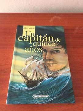 UN CAPITÁN DE QUINCE (15) AÑOS - JULIO VERNE ED. PANAMERICANA