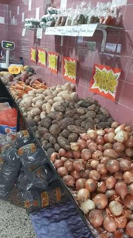 Vendo fondo de comercio de verduleria con opción de alquiler de local