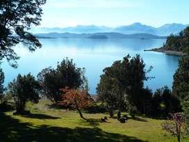 Alquiler temporario casa 3 dormitorio con costa en lago Nahuel Huapi