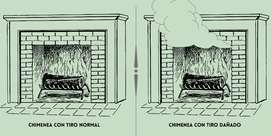 Reparamos tu chimenea de leña. ¡La revisión de nuestros técnicos en chimeneas se reduce del valor final!