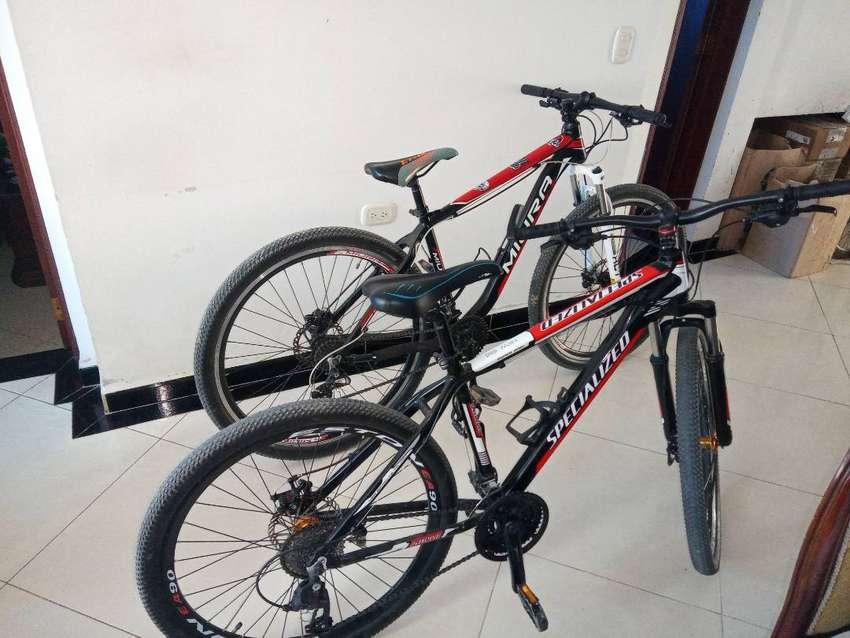 Vendo 2 bicicletas en buen estado 0