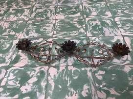 Candelabro de hierro