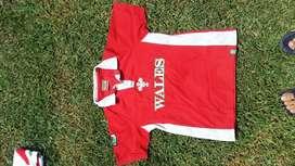 Vendo Camiseta Selección de Gales de Rugby Vintage