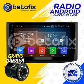 RADIO ANDROID CHEVROLET AVEO EMOTION 2007/15 GPS BT USB WIFI BETAFIX DESDE