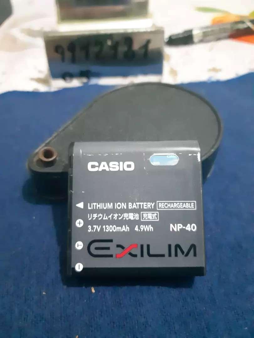 Bateria para camara casio np-40 original de cegunda 0