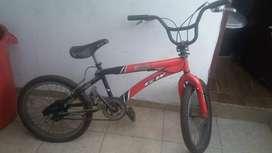 Bicicleta GW con manurio giratorio