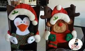 Cubrecillas navideños