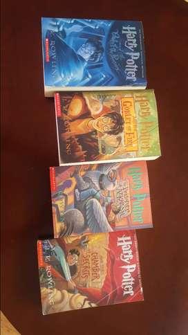 libros de harry potter en ingles