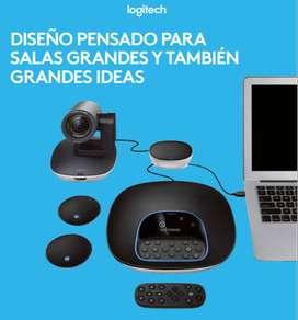 CAMARA VIDEOCONFERENCIA LOGITECH GROUP/25 PERS/USB/BLUET/CONT REMOTO/90
