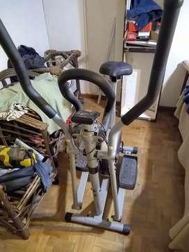 Escalador elíptico y bicicleta Olmo Fitness 84. Escucho ofertas