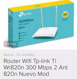 Router tp link nuevo en caja