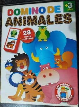Dominó De Animales Ruibal Don Rastrillo 3años usado en perfecto estado
