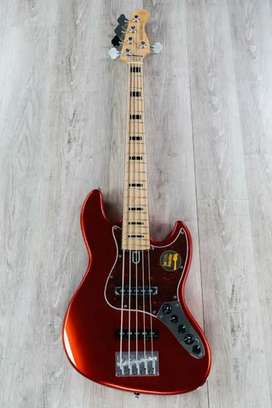 Sire Marcus Miller V7 vintage 2nd gen 5-string metallic red