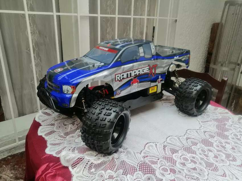 Rampage xt escala 1/5  RC de redcat, camion monstruo motor dos tiempos gasolina corriente, 0