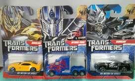 Transformers Autitos X 3 Nuevos